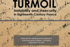CfP: TURMOIL / DANS LA TOURMENTE: Instability and Insecurity in Eighteenth-Century Franc